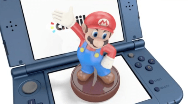 New 3DS XL - now with Amiibo compatibility built-in