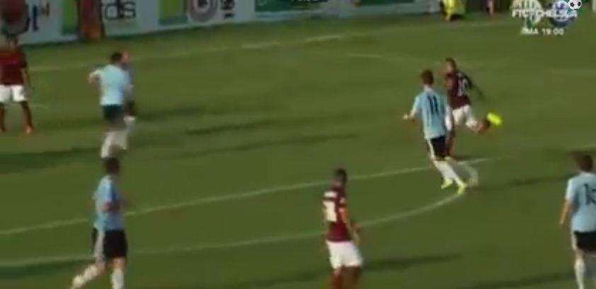 Francesco Totti scores awesome lob in Roma win over Eltendorf