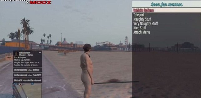 GTA V: Grand Theft Auto players having characters tormented