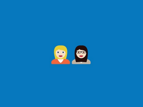 Two women have decided that there aren't enough lesbian emojis in the world, so they've created their own