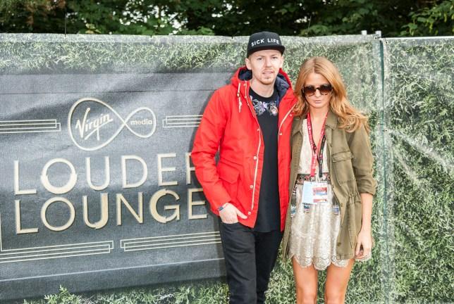Louder Lounge at the Virgin Media V Festival, Hylands Park, Chelmsford, Essex, Britain