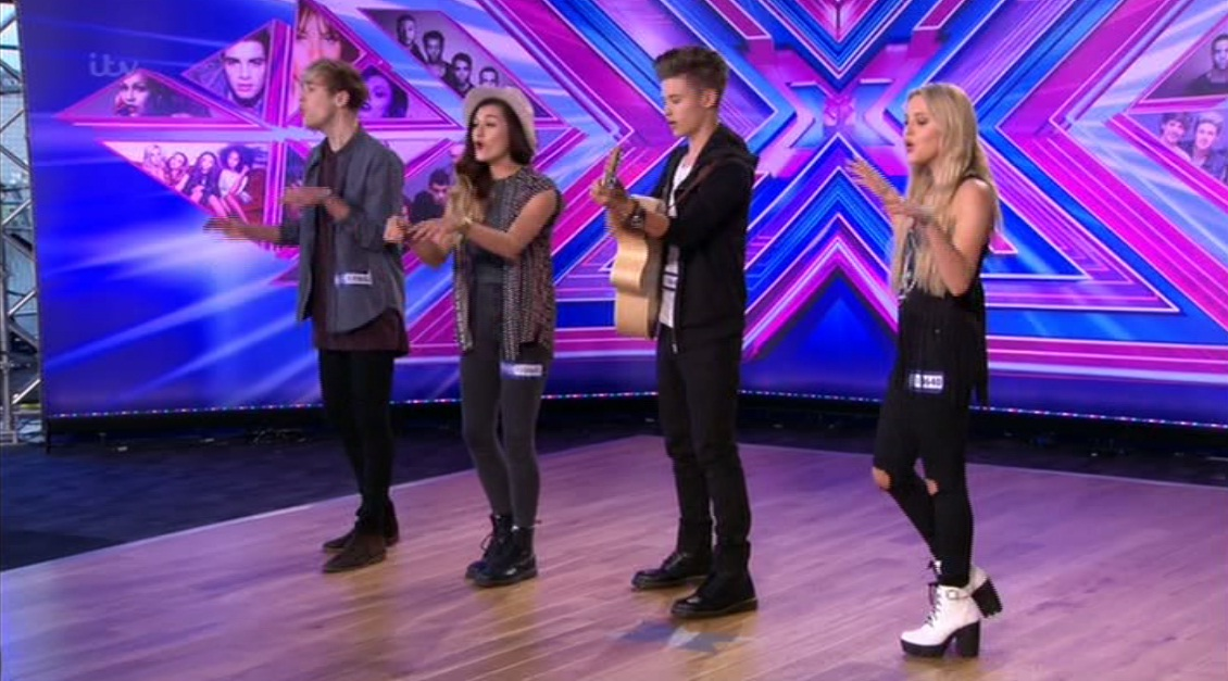 The X Factor 2014: Long time Only The Young fans praise the foursome as they smash X Factor audition