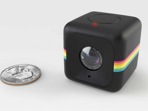 Polaroid unveils its answer to GoPro: A tiny rubber cube that's 'made to be dropped'