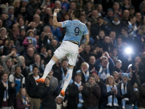 Alvaro Negredo signs off from Manchester City with classy farewell letter to fans