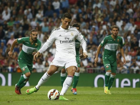 Perfect night for Cristiano Ronaldo as he scores four for Real Madrid and denies rumours of Manchester United return