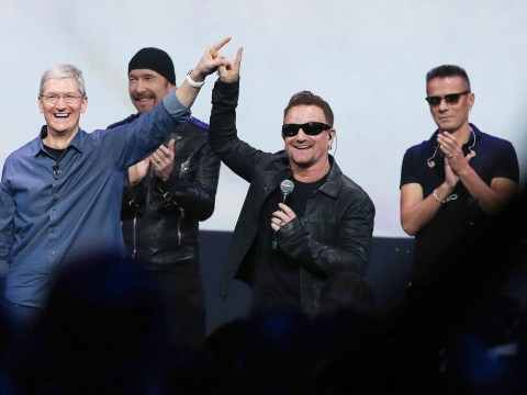 U2 stun fans by announcing free new album Songs of Innocence at iPhone 6 launch