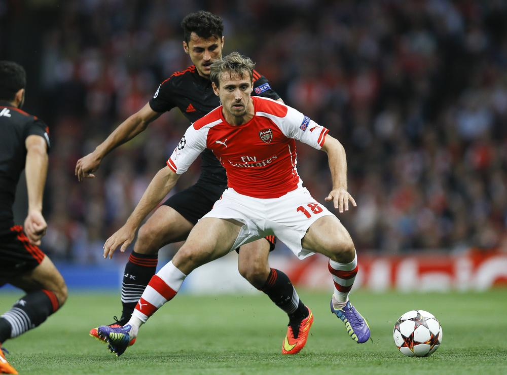 Nacho Monreal destroyed by Arsenal fans on Twitter after Manchester City take lead