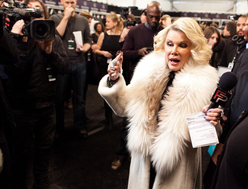 Joan Rivers' best celebrity put downs