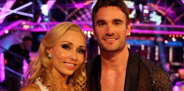 Strictly Come Dancing Thom Evans Iveta Lukosiute