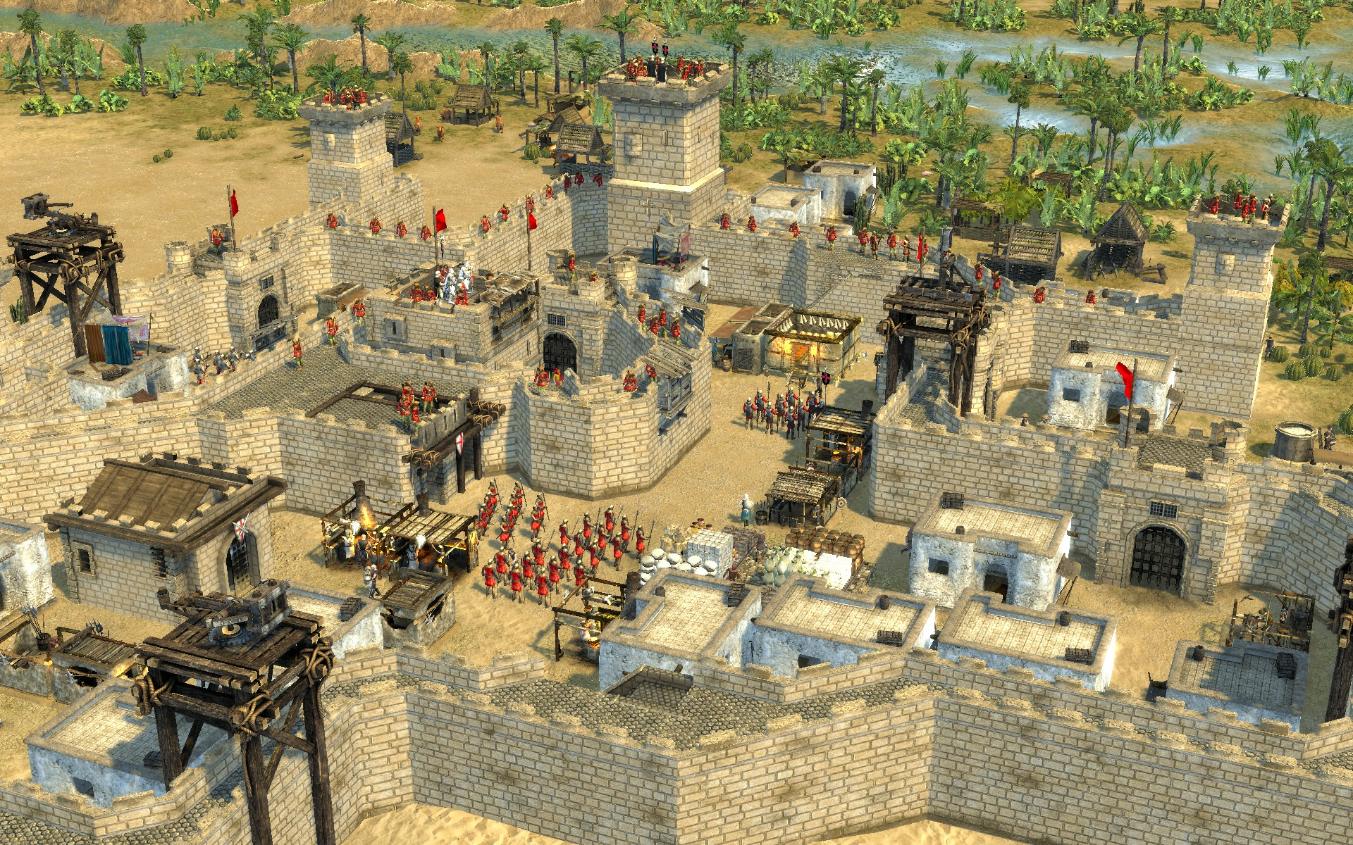Stronghold Crusader II - because who doesn't like castles?