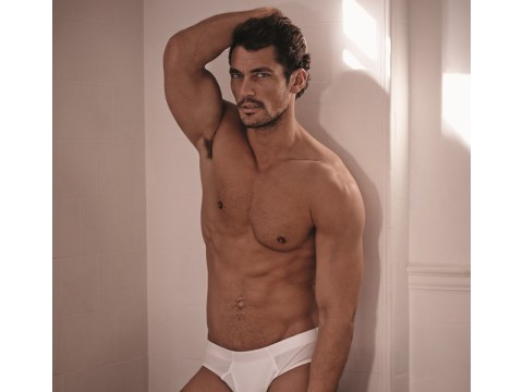 David Gandy launches his underwear range for M&S and here's how you can check him out in the flesh