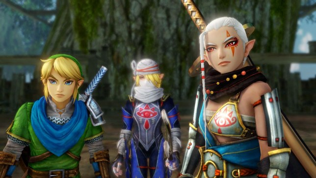 Hyrule Warriors (Wii U) - giving Link a scarf is about the game's biggest innovation