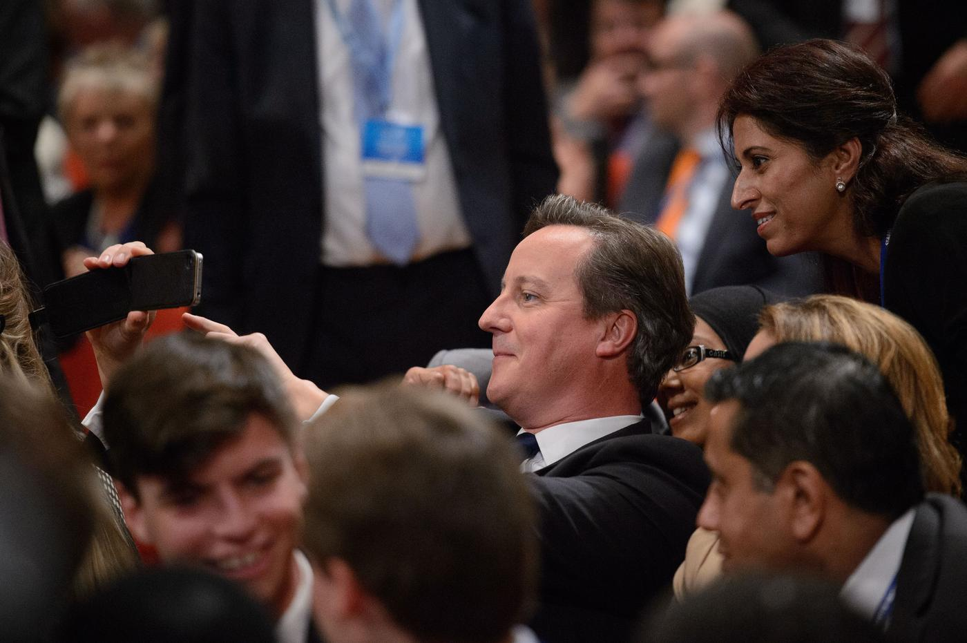 David Cameron will always lead the way when it comes to selfies