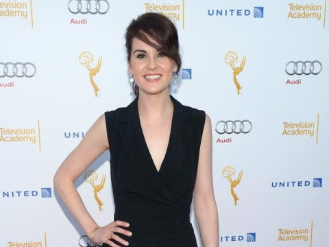 Downton Abbey star Michelle Dockery reveals 'rich Britney' disguise