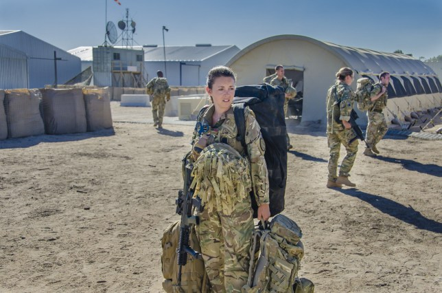 Lacey Turner stars as Molly Dawes in Our Girl (Picture: BBC1)