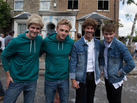 EastEnders fire: Peter Beale and Johnny Carter's stunt doubles don't actually look anything like them