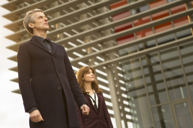 Doctor Who season 8: Time Heist starring Peter Capaldi and Jenna Coleman