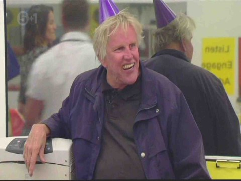 Put it away! Gary Busey slapped with Celebrity Big Brother warning after 'exposing himself' in kitchen