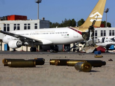 11 aircraft are missing from 'terrorist-held' Tripoli airport ahead of 9/11 anniversary
