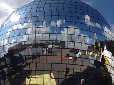 Bestival 2014 set to break the Guinness World Record for the world's biggest disco ball