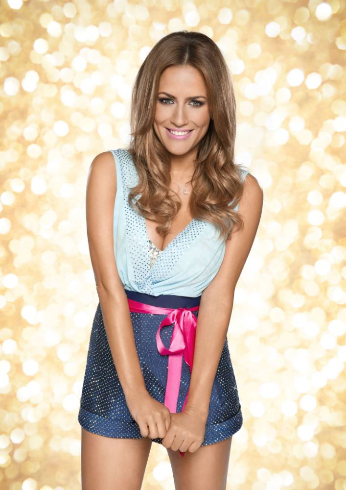 EMBARGOED TO 0001 TUESDAY SEPTEMBER 2 For use in UK, Ireland or Benelux countries only. BBC undated handout photo of Strictly Come Dancing 2014 contestant Caroline Flack. PRESS ASSOCIATION Photo. Issue date date: Tuesday September 2, 2014. See PA story SHOWBIZ Strictly. Photo credit should read: Ray Burmiston/PA Wire NOTE TO EDITORS: Not for use more than 21 days after issue. You may use this picture without charge only for the purpose of publicising or reporting on current BBC programming, personnel or other BBC output or activity within 21 days of issue. Any use after that time MUST be cleared through BBC Picture Publicity. Please credit the image to the BBC and any named photographer or independent programme maker, as described in the caption.