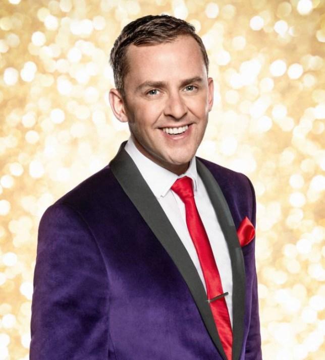 Strictly Come Dancing 2014, strictly 2014, strictly come dancing, Scott Mills, Joanne Clifton, Radio 1 DJ Scott Mills