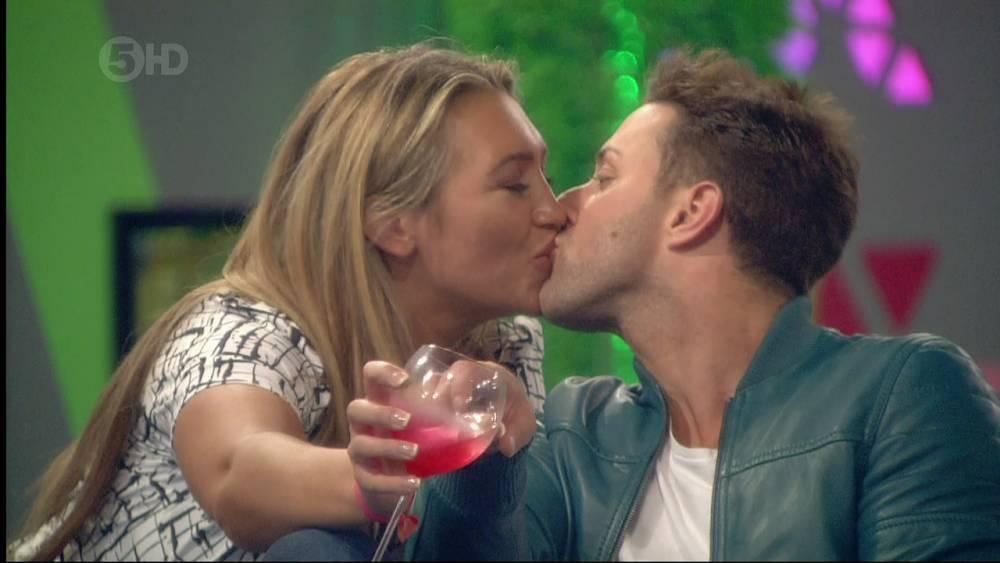 Celebrity Big Brother - Lauren Goodger and Ricci Guarnaccio