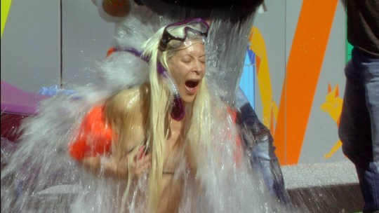 Frenchy does ice bucket challenge