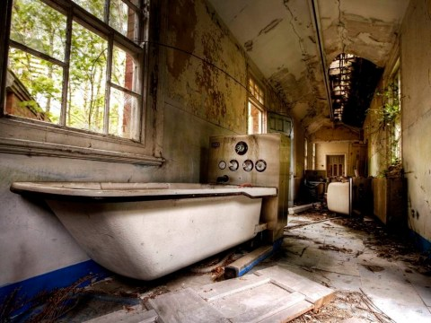 Abandoned psychiatric wards are backdrop for creepy/beautiful new book Asylum
