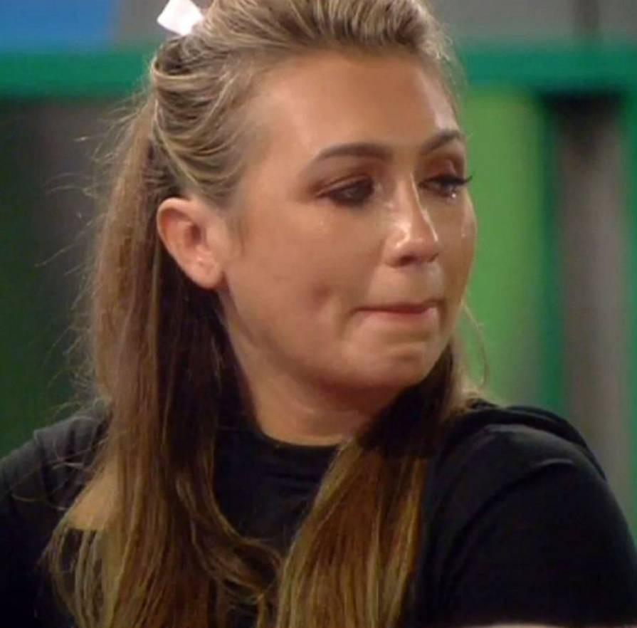 Celebrity Big Brother 2014: Lauren Goodger breaks down after James Jordan's hurls insults at her
