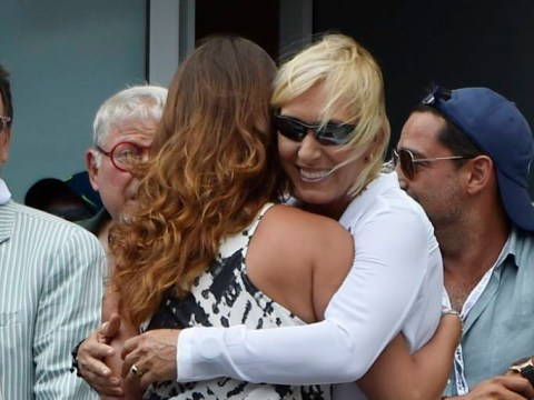 Martina Navratilova surprises Julia Lemigova with big-screen proposal during Novak Djokovic US open defeat