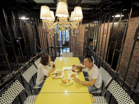 Prison-themed restaurant opens in China and we totally want to go