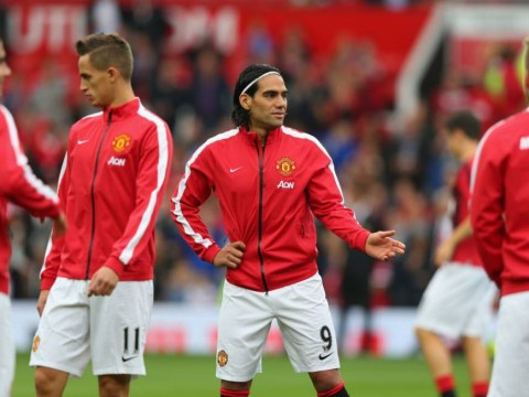 Radamel Falcao's English isn't up to speed as he tells followers not to miss Manchester United v 'Qeens Park Rogers'