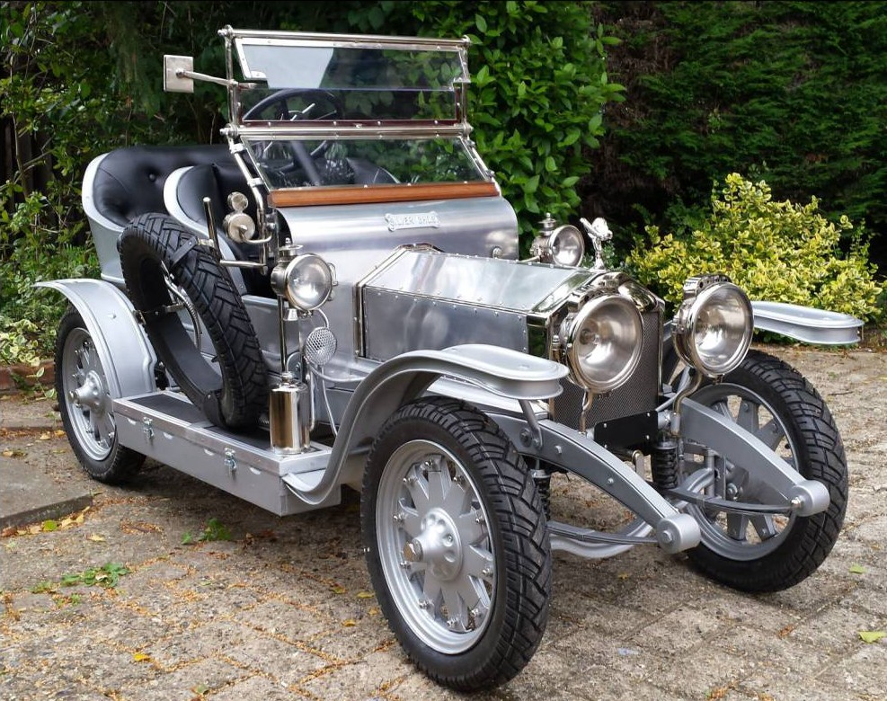A scale replica Rolls-Royce Silver Ghost, sold for £15,000 at the weekend Picture BPNS)