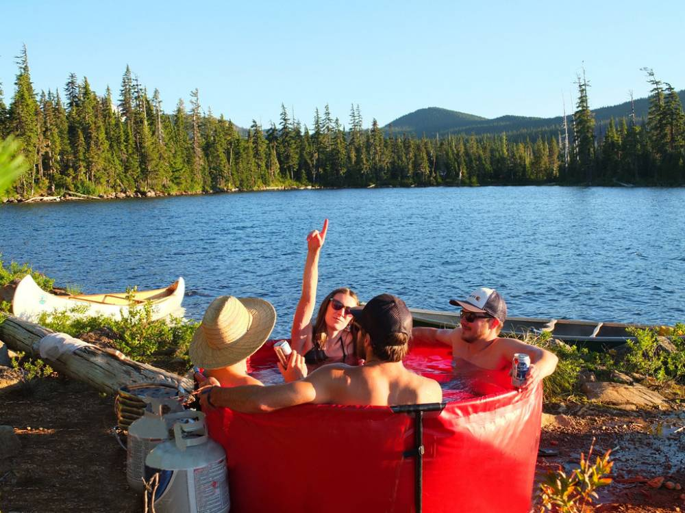 portable hottub sourced by pej  credit The Original Nomad company and link back to http://theoriginalnomad.com/