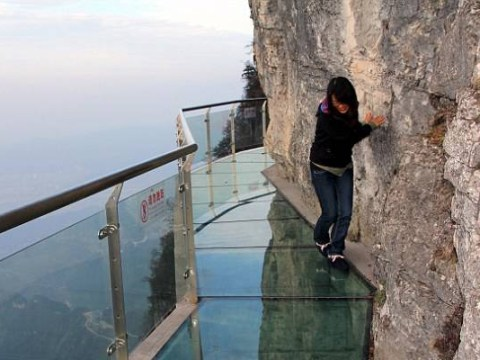 Fancy joining this mile-high club? Try this 6,000ft high glass walkway then