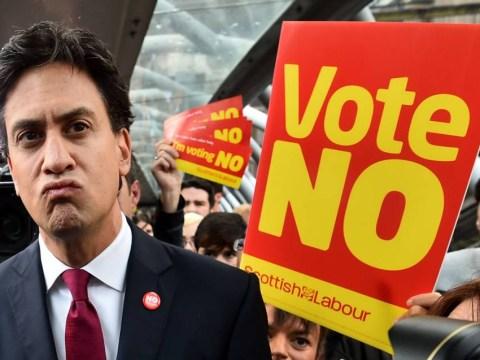 Ed Miliband slams the Yes campaign's 'ugly' tactics after Edinburgh ambush