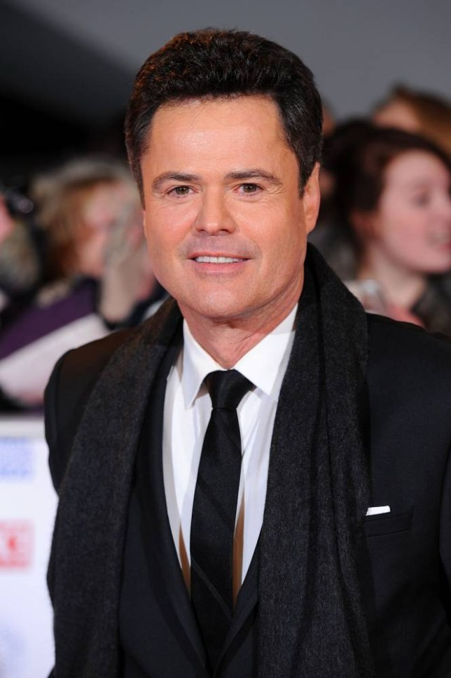 """File photo dated 23/1/2013 of Donny Osmond who will be joining Strictly Come Dancing's judging panel for a special one-off guest appearance - and he has warned he will be a """"tough judge"""". PRESS ASSOCIATION Photo. Issue date: Sunday September 21, 2014. For one week only, the star will join Len Goodman, Bruno Tonioli, Craig Revel-Horwood, and Darcey Bussell, as they cast a critical eye over the dancefloor this autumn. See PA story SHOWBIZ Strictly. Photo credit should read: Dominic Lipinski/PA Wire"""