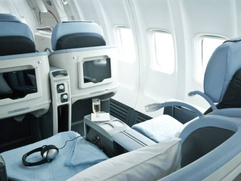 There's a transatlantic airline with massaging chairs, a Michelin star menu and tablets for all passengers