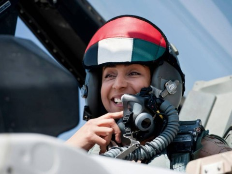 Saudi Prince and UAE's first woman pilot in Syria bombing mission