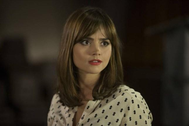 Clara Oswald played by Jenna Coleman
