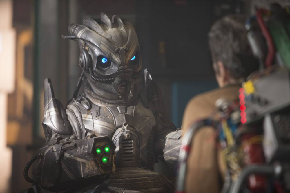 Doctor Who: Skovox Blitzer and The Doctor (PETER CAPALDI)