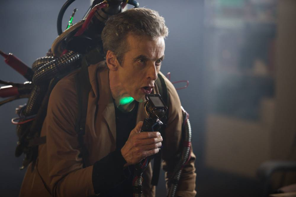 Doctor Who: peter Capaldi stars in The Caretaker