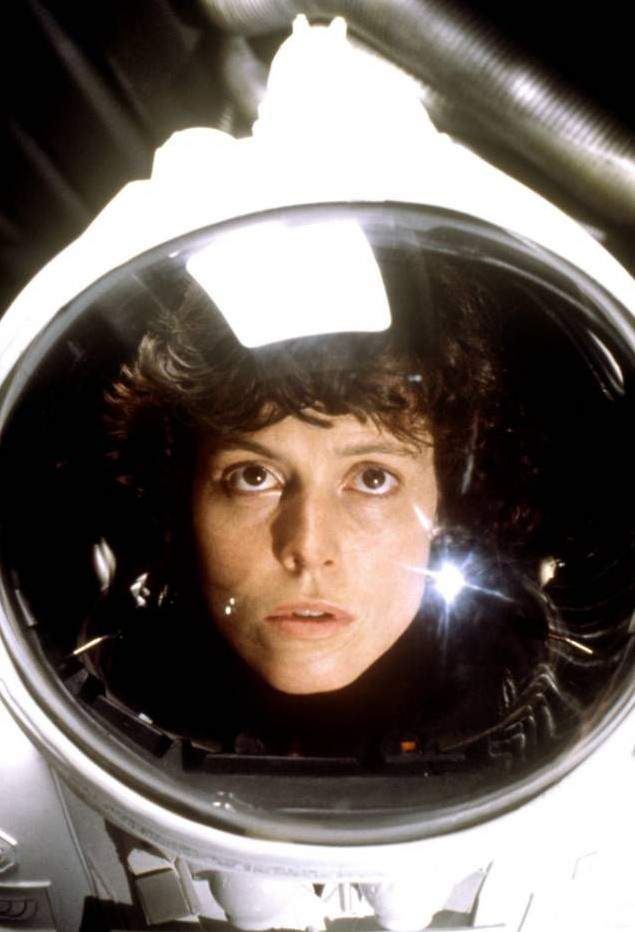 No Merchandising. Editorial Use Only. No Book Cover Usage.. Mandatory Credit: Photo by Courtesy Everett Collection/REX (2067093a).. ALIEN, Sigourney Weaver, 1979.. ALIEN, Sigourney Weaver, 1979.. ..