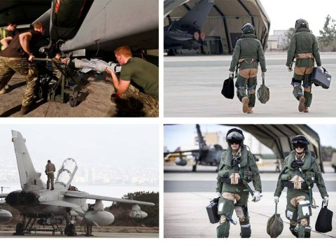 RAF begin bombing missions against Isis in Iraq, MoD confirms