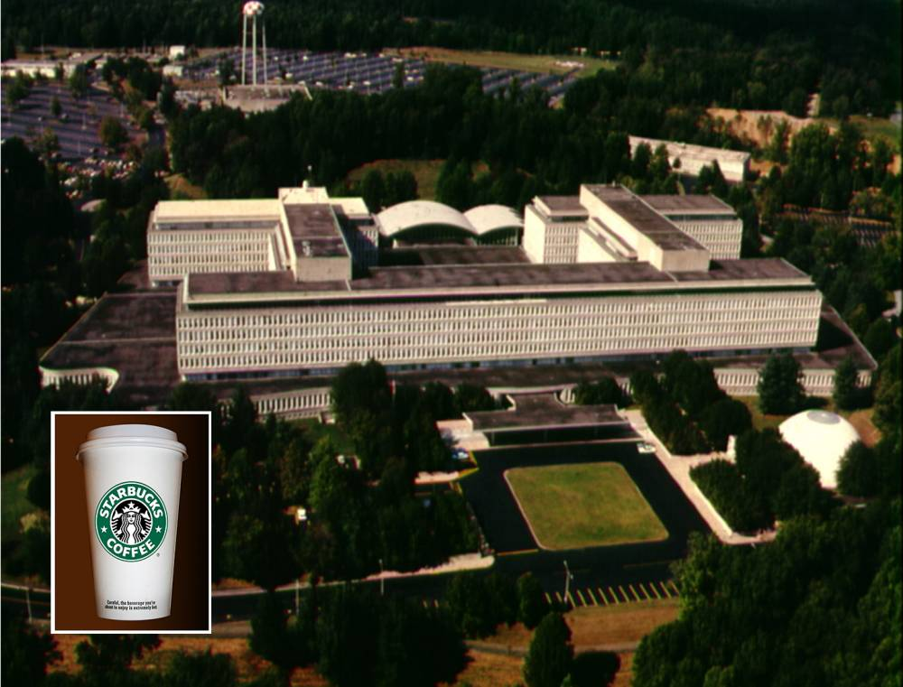 The CIA has its own Starbucks (just don't ask anyone to give their name)