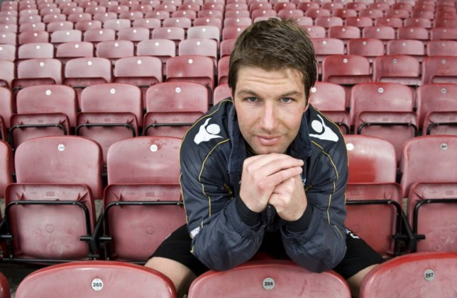 Thomas Hitzlsperger of West Ham FC at Upton Park, Boleyn Ground, London, England. Former West Ham player Thomas Hitzlsperger has revealed he is gay.  Mandatory Credit: Photo by REX (1293413b)