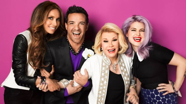 Television Programme: Fashion Police with Joan Rivers.  Joan Rivers died 4/9/2014 aged 81.