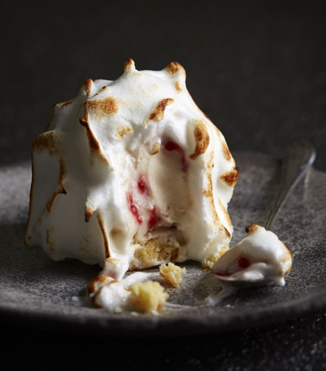 Baked Alaska perfection (Picture: Danielle Wood/ Ruby Violet)
