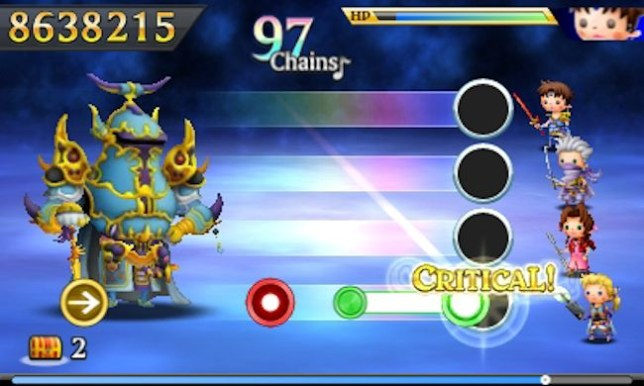 Theatrhythm Final Fantasy: Curtain Call (3DS) - musical fantasy
